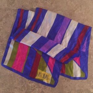Bill Blass vintage scarf
